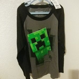 Boys Minecraft shirt